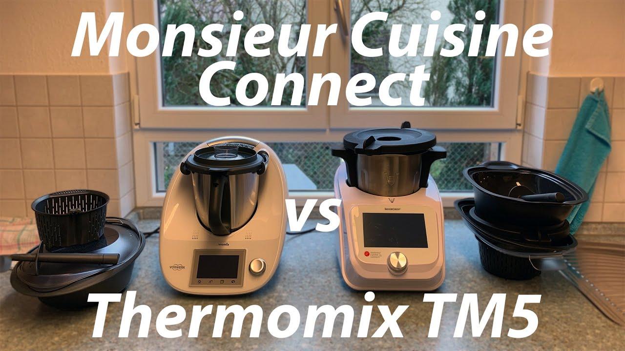 lidl monsieur cuisine connect vs