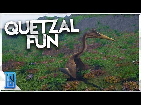 The Isle - NEW DINO- QUETZAL/BIRD OF PREY! (QUETZAL PLAY)