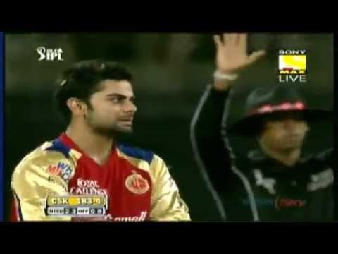 Need 83 off 38 Chennai CSK vs Bangalore RCB Highlights 2012