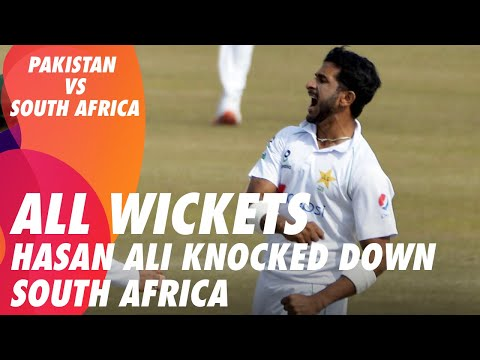 Hasan Ali Knocked Down South Africa | Pakistan vs South Africa | 2nd Test Day 5 | PCB | ME2E