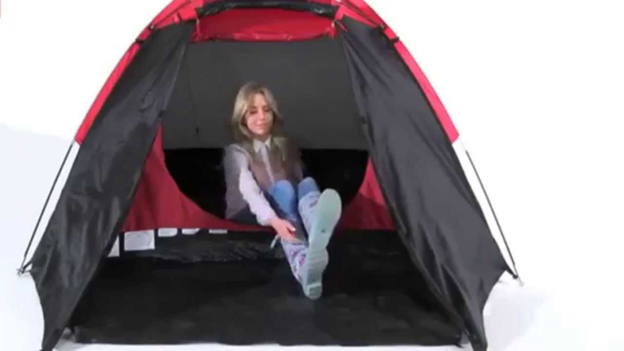 sc 1 st  YouTube & ProAction 4 man dome tent review - YouTube