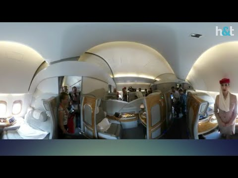 How to Inside the Emirates Airline 777-300 | Amazing Luxury Jet | Dr hack & tech
