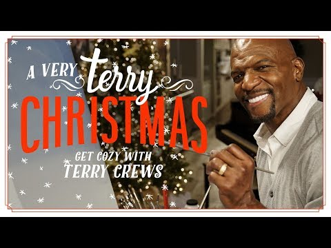 Terry Crews Painting A Christmas Tree Is The Only Thing That Matters