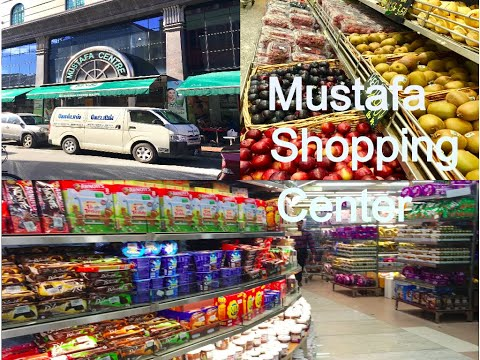 Mustafa (Indian Groceries) Shopping Center In Singapore