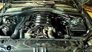 fumée moteur BMW 530D