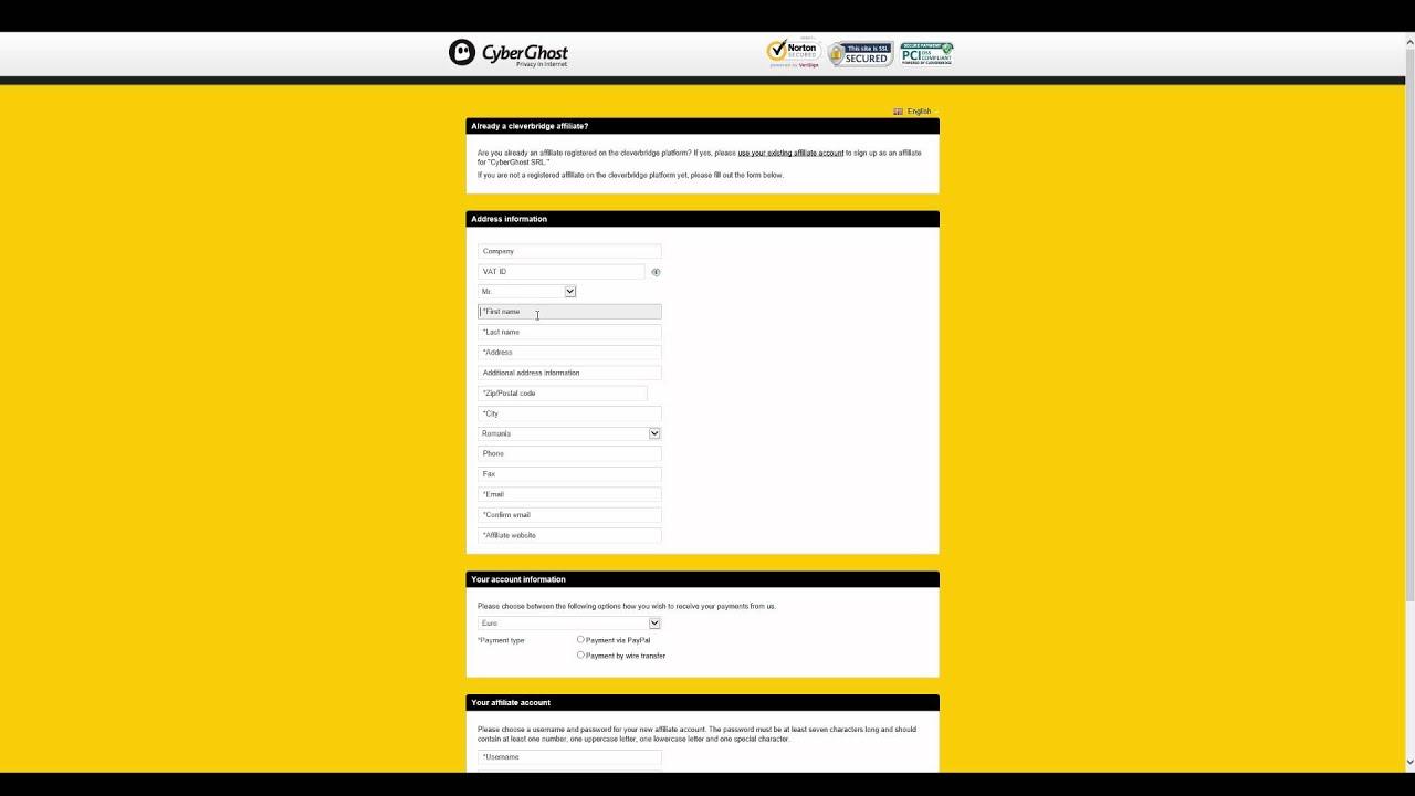 Cyberghost vpn license