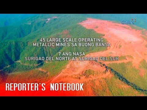 Reporter's Notebook: Duterte poses warning against mining firms