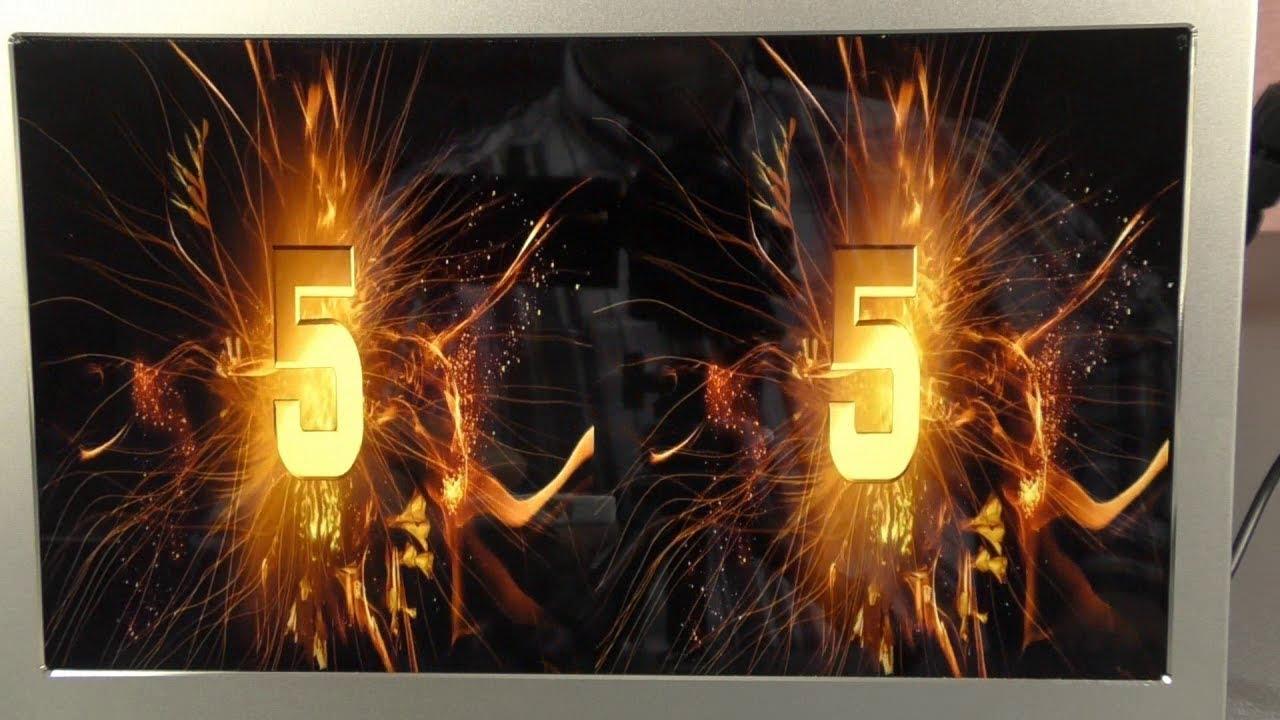 Digitaler Bilderrahmen 12 Zoll Full-HD - Foto, Video, Musik - YouTube
