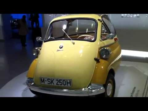 BMW isetta 1955 - YouTube