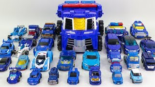 Blue Color Transformers Hellow Carbot Tobot 27 Vehicle Car Robot Toys