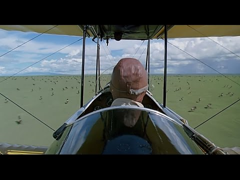 Out of Africa (1985) - 'Flying Over Africa' scene [1080]