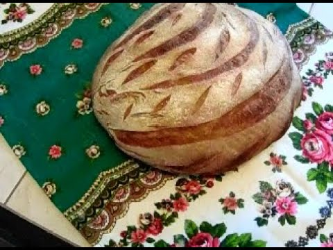 Пшеничный хлеб на закваске Левито Мадре