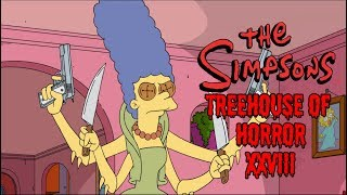 The Simpsons Treehouse of Horror XXVIII (28) REVIEW - Worth The Watch