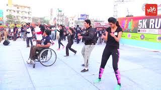 Airtel Hyderabad Marathon 2017 5K Fun Run | एयरटेल हैदराबाद मैराथन 2017 5K मज़ा भागो | YOYO TV Hindi