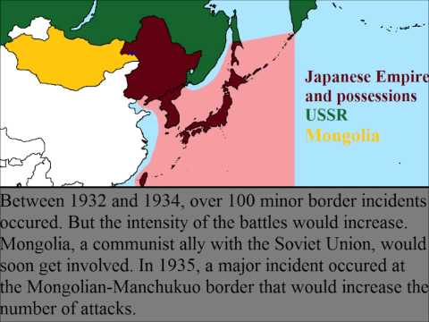 Soviet Japanese Border Conflicts