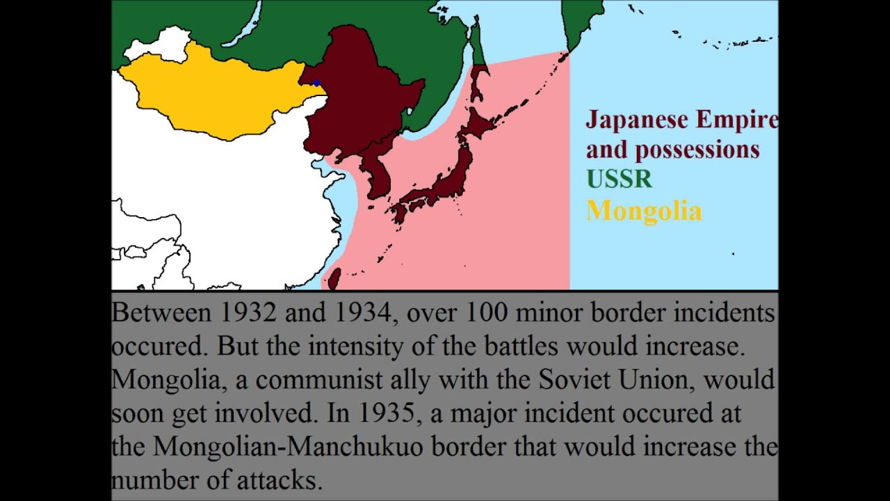 Soviet Japanese Border Conflicts YouTube