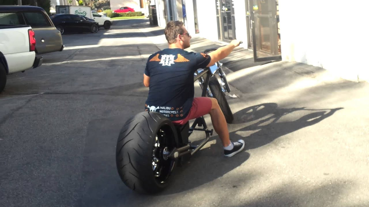 23inch 300mm Rear Chopper Rolling Youtube
