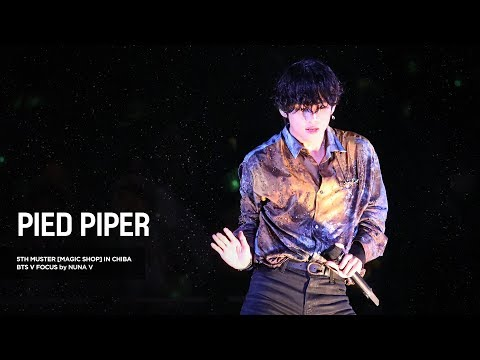191123 5th Muster MAGIC SHOP - PIED PIPER / BTS V / 방탄소년단 뷔 (4K Fancam)
