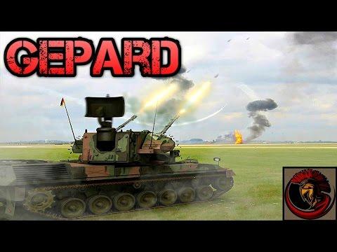 Flakpanzer Gepard Self Propelled Anti-Aircraft Gun : Overview