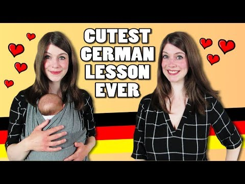 The CUTEST German Lesson Ever