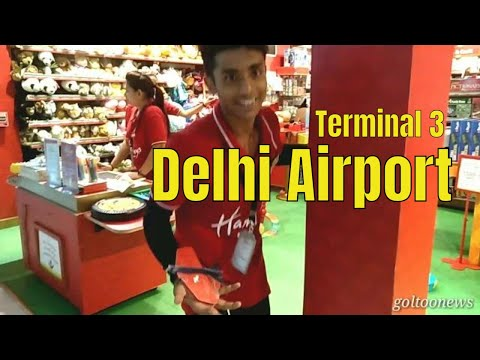 New Delhi Airport Terminal-3  T3 First time traveller Guide