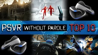 Top 10 PlayStation VR Games | October 13, 2017