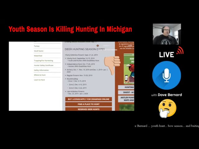 The Youth Hunt Has Killed Michigan Bow-Hunting