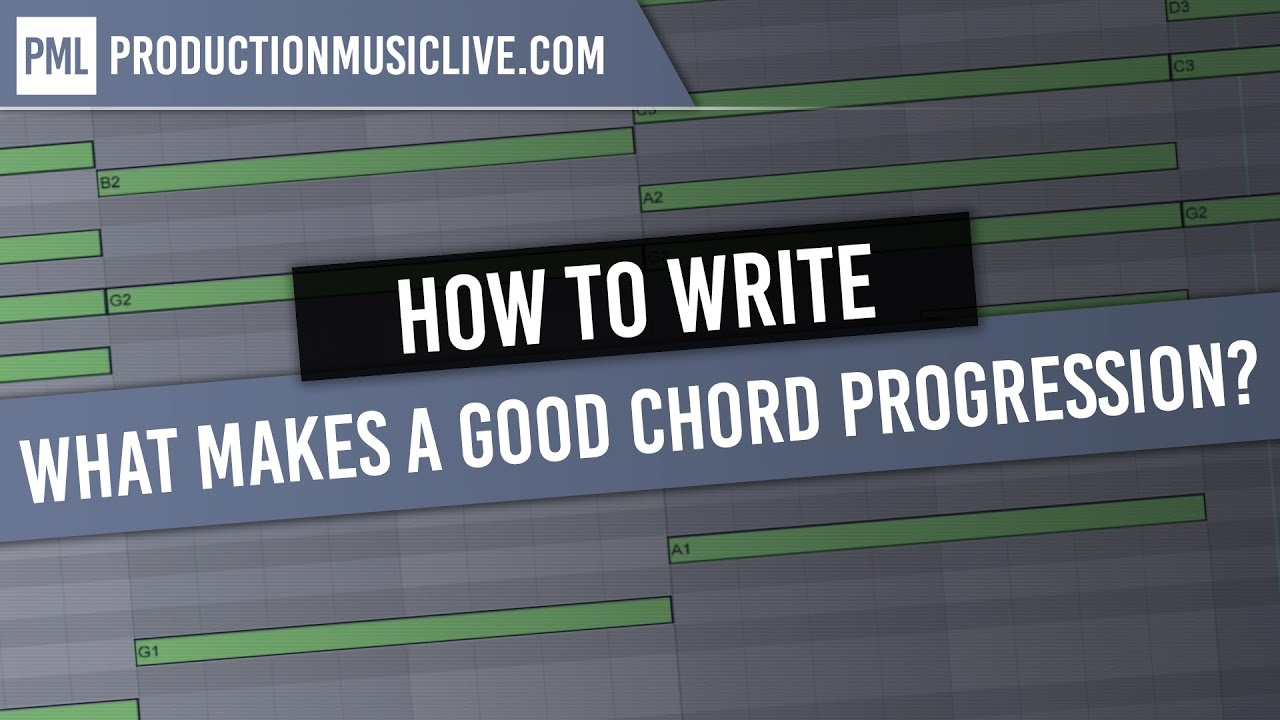 7 Chord Progressions That Work All the Time