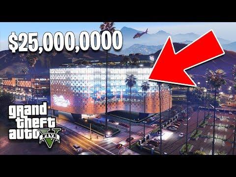 GTA 5 Casino DLC 25.000.000 $ Kaufrausch, Teil 1! Neuer GTA 5 Casino DLC Showcase! + video