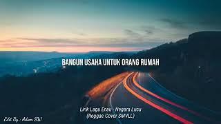 Gambar cover Enau negara lucu cover smvll+ lirik