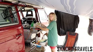 Why We Cook Outside | Kitchen | Van Life