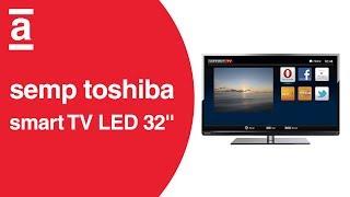 smart tv led 32 semp toshiba le 3278 hd com conversor digital 2 hdmi 2 usb 60hz americanas com