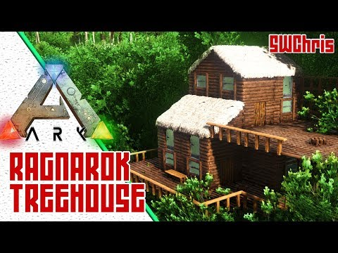 Awesome Small ARK Treehouse! :: Exploring ARK Ragnarok Official Map :: Awesome ARK Base Locations