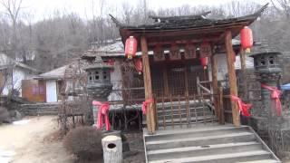 東北二省奇幻之旅--黑龍江牡丹江市--鏡泊湖峽谷5--北韓民俗村