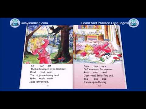 Story-Irregular Verbs The Kitten In The Mitten by Kenan Dursun
