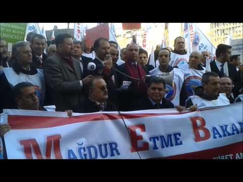 Eğitim İş Dershane Taslağını MEB Önünde Protesto Etti