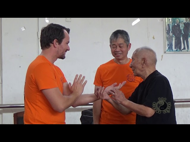 Chi Sau with Grandmaster Ip Chun pt8
