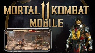 Mortal Kombat 11 Mobile - Gameplay ! (Android and  iOS)