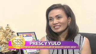 Rotary Club of Makati GEMS featured in GRR, GMA News TV