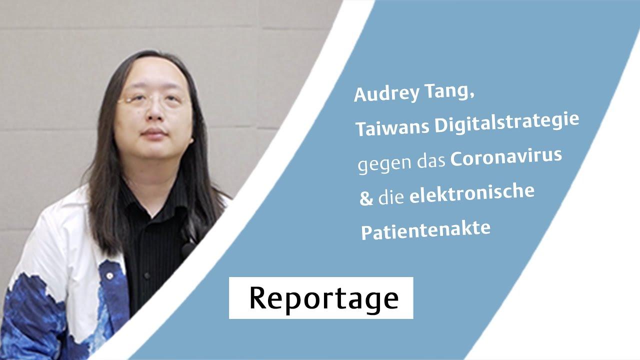 Audrey Tang, Taiwans Digitalstrategie gegen das Coronavirus & die elektronische Patientenakte