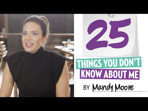 25 Things You Didn't Know About Mandy Moore