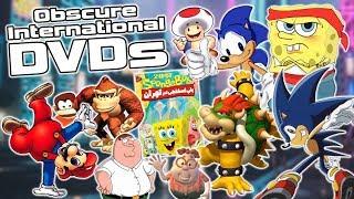Bizarre International DVDs From Around The World - Sonic, Mario, SpongeBob & More!