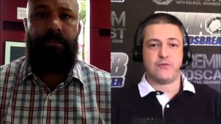Frank Trigg and Nick Kalikas preview UFC 187's title fights for MMAOddsbreaker