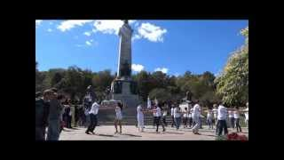 Montreal international zouk flashmob sept 16th 2012 (IZFM)