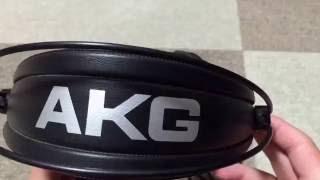 モニタヘッドホンAKGのK240のご紹介‼️