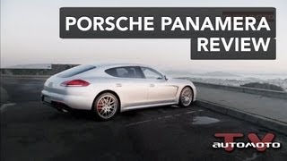 2013 Porsche Panamera Review | AutoMotoTV