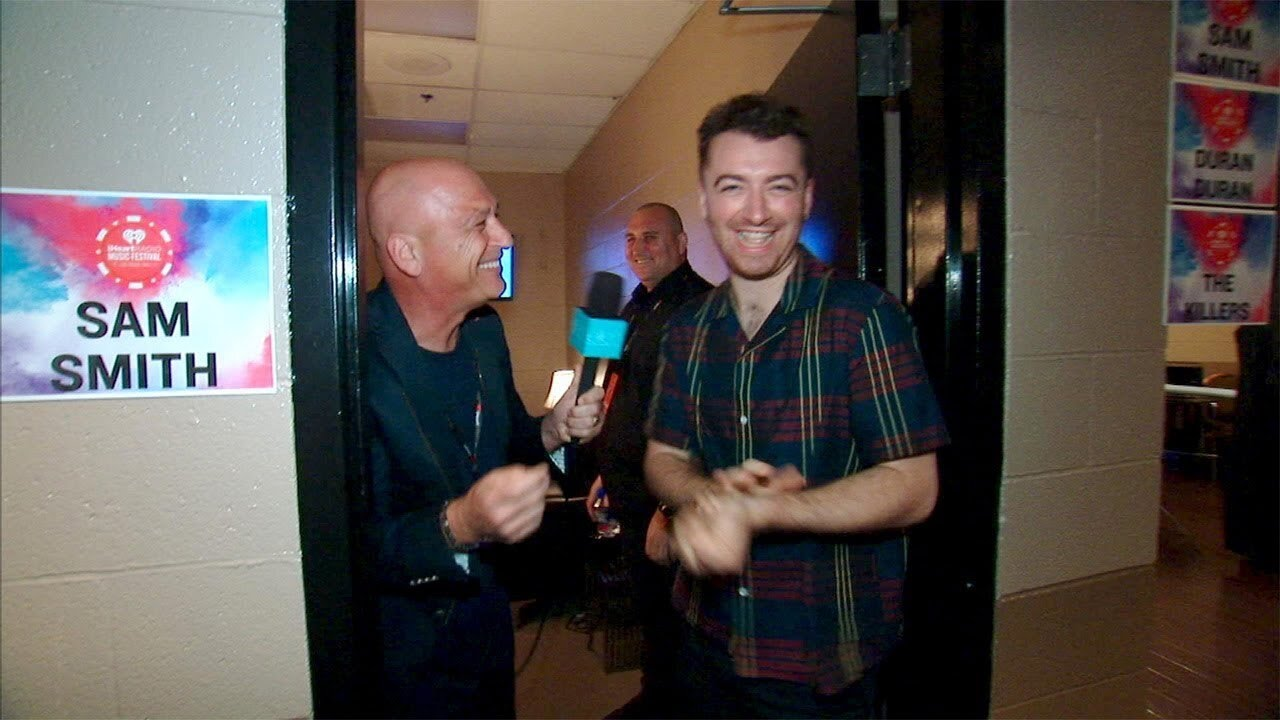 Backstage at the 2015 iHeartRadio Music Festival with Howie Mandel