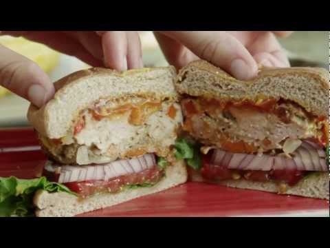 How to Make Grilled Chicken Burgers | Burger Recipe | AllRecipes