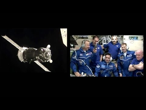 ISS Expedition 46-47 - Auto Docking Aborted Switched To Manual Control