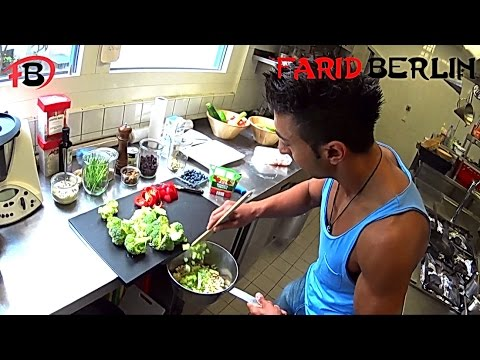 Fast & Easy  Vegan Meal  Bodybuilding Transformation | Schnell Gesund Vegan Kochen | Farid Berlin